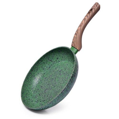 Сковорода Fissman Malachite 4311 24 см, зеленый сковорода d 24 см kukmara кофейный мрамор смки240а