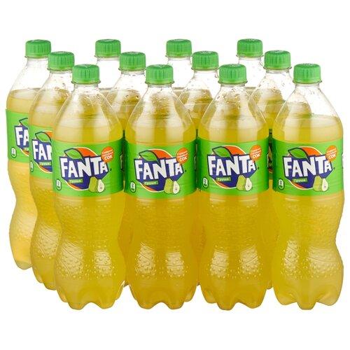 Газированный напиток Fanta Груша, 0.9 л, 12 шт.