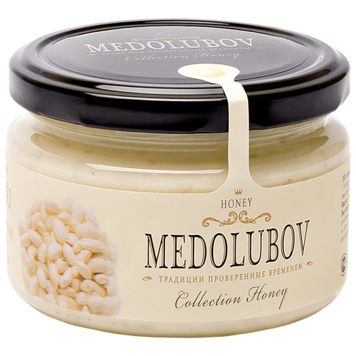 Крем-мед Medolubov с воздушным рисом 250 мл