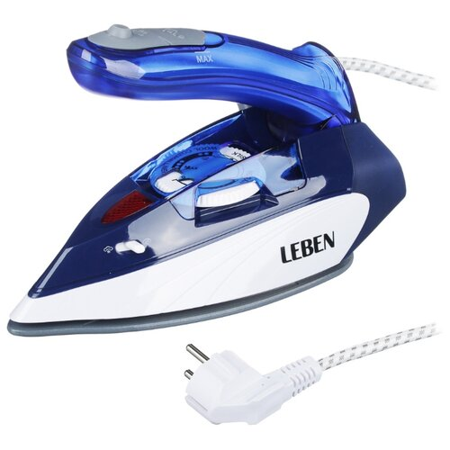 Утюг Leben 249-033 синий/белый