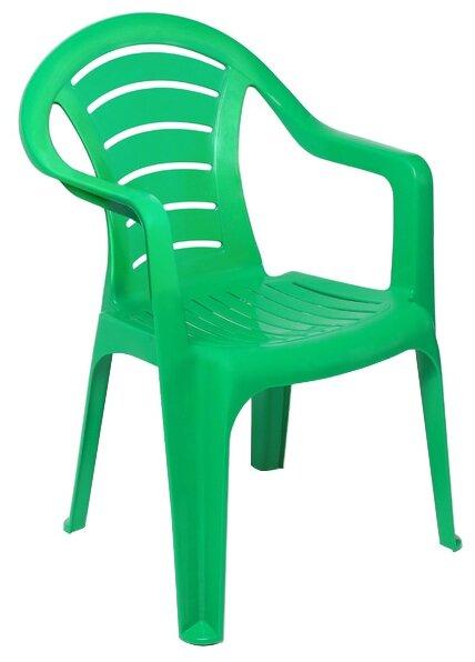 Купить Кресло Туба-Дуба пластиковое зеленый по низкой цене с доставкой из Яндекс.Маркета