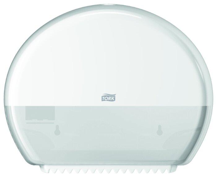 Диспенсер для туалетной бумаги TORK 555000 для мини-рулонов, белый, Т2
