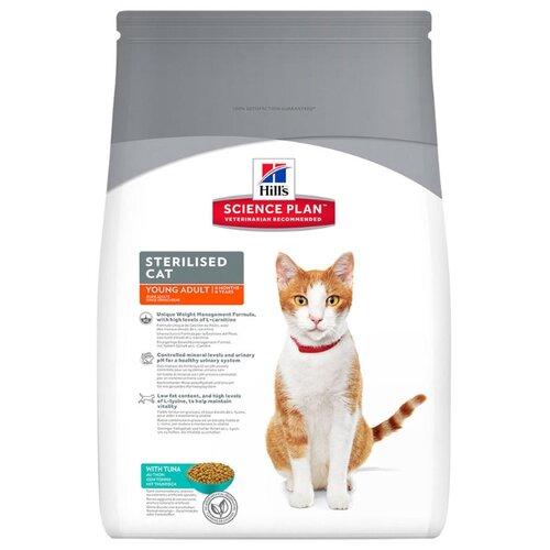 Корм для кошек Hills Science Plan Feline Sterilised Cat Young Adult with Tuna (3.5 кг)Корма для кошек<br>