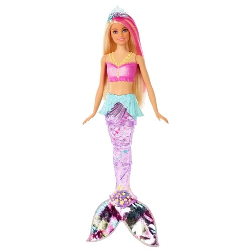 Фото - Кукла Barbie Dreamtopia Мерцающая русалочка, GFL82 кукла barbie dreamtopia