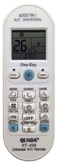 Пульт ДУ Qunda KT-e08 для кондиционера