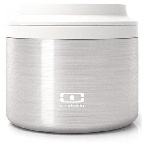 Термос для еды Monbento MB Element S, 0.65 л серебро