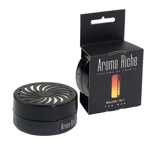 Автолидер Ароматизатор для автомобиля, Aroma Riche мужской, Million №1 50 г