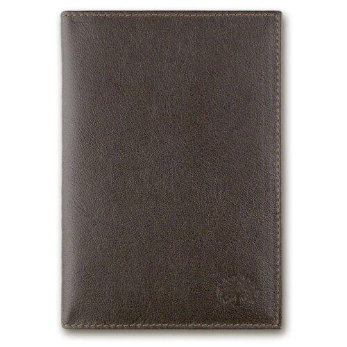 Обложка для паспорта Qoper 0769 brown