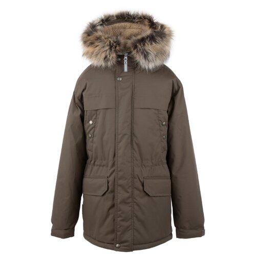 Купить Парка KERRY Wafi K20469 A размер 170, 810 серо-бежевый, Куртки и пуховики