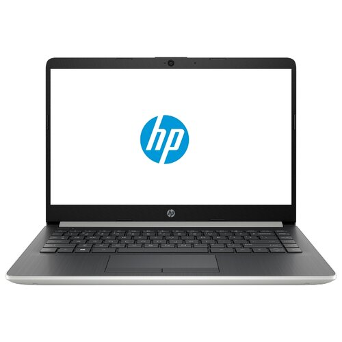 Ноутбук HP 14-dk0000ur (AMD A6 9225 2600 MHz/14/1920x1080/4GB/128GB SSD/DVD нет/AMD Radeon R4/Wi-Fi/Bluetooth/DOS) 6NC26EA серебристый/пепельно-серебристый ноутбук hp envy x360 15 cp0007ur 4tu01ea серебристый