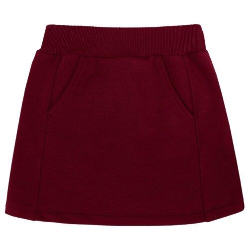Купить Юбка Мамуляндия размер 92, бордовый, Платья и юбки