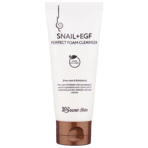 Secret Skin пенка для умывания Snail + Egf Perfect Foam Cleanser, 100 мл недорого