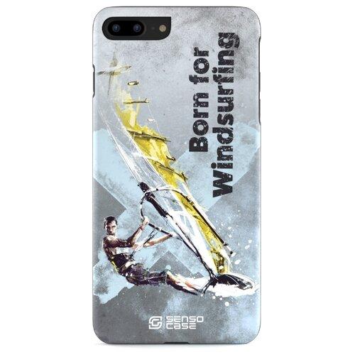 цена на Чехол Sensocase 100078 + защитное стекло для Apple iPhone 7 Plus/iPhone 8 Plus виндсерфинг