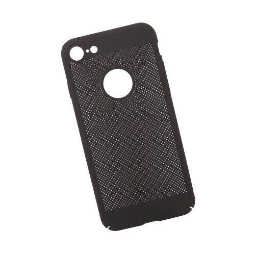 Чехол Liberty Project Сетка Soft Touch для Apple iPhone 7 черный
