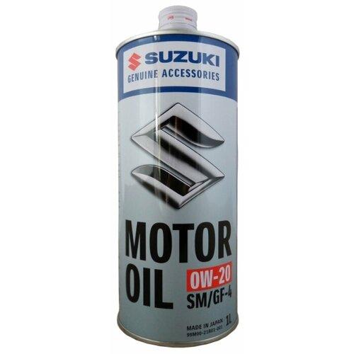 Моторное масло SUZUKI MOTOR OIL 0W-20 1 л