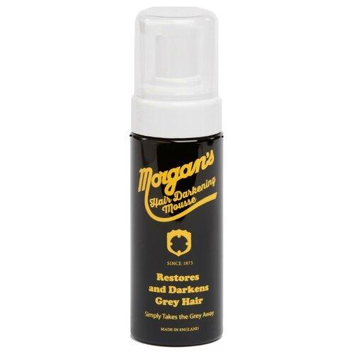 Morgan's Мусс для укладки и восстановления цвета седых волос Hair Darkening Mousse, 150 мл