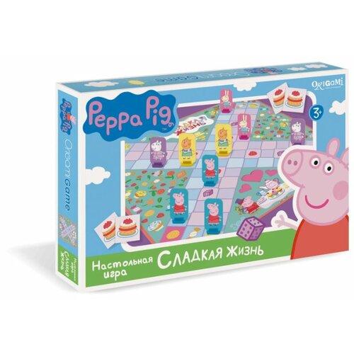 Купить Настольная игра Origami Peppa Pig. Сладкая жизнь, Настольные игры