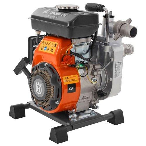 Мотопомпа Husqvarna W40P 200 л/мин мотопомпа hammer flex mtp285 2 4 х такт 3 6 л с 500 л мин