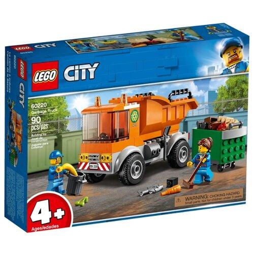 Купить Конструктор LEGO City 60220 Мусоровоз, Конструкторы
