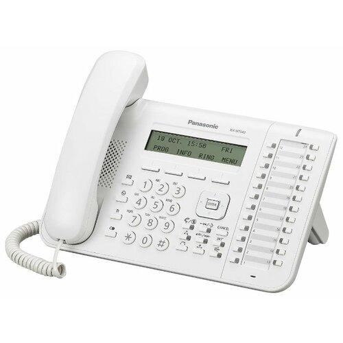 VoIP-телефон Panasonic KX-NT543 белый