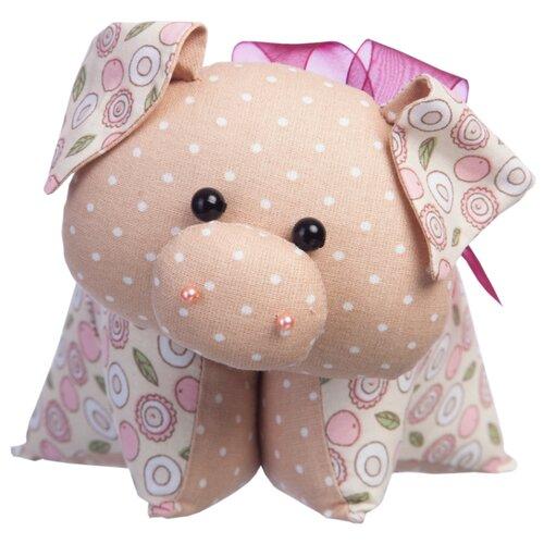 Купить Малиновый слон Набор для изготовления мягкой игрушки Поросёнок Бантик (ТК-035), Изготовление кукол и игрушек