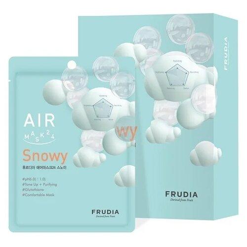 Frudia Обновляющая кремовая маска для лица Snowy, 25 мл, 10 шт.Маски<br>