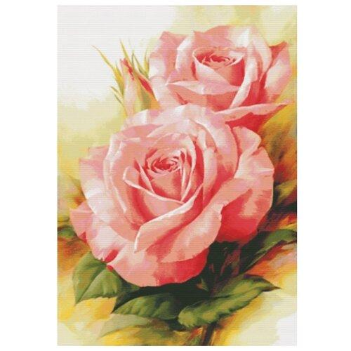 Купить Белоснежка Набор для вышивания Королевские розы 64 x 91 см (6080), Наборы для вышивания