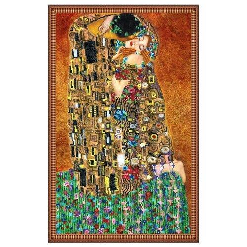 Купить ABRIS ART Набор для вышивания бисером Поцелуй 46 х 30 см (AB-073), Наборы для вышивания