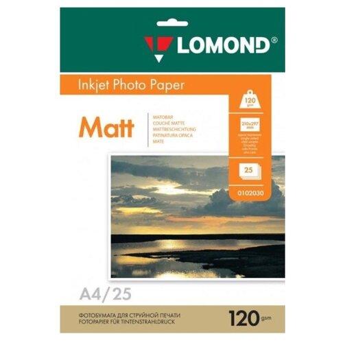 Бумага Lomond A4 Photo Paper 0102030 120 г/м² 25 лист. белый 1 шт.
