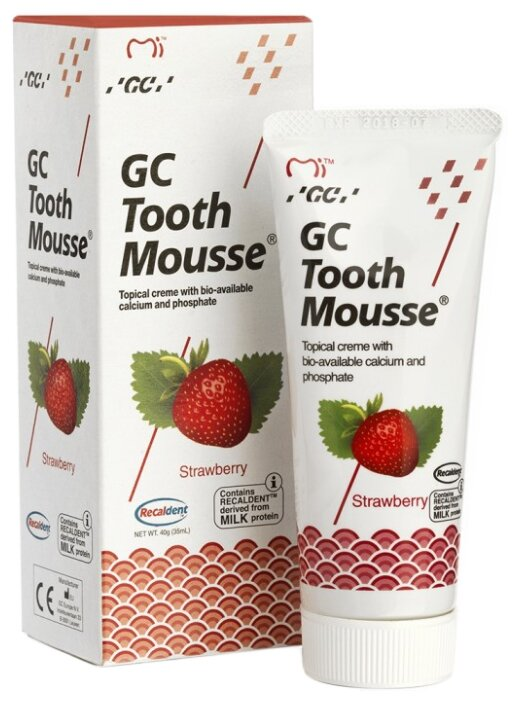 Зубная паста GC Tooth Mousse Tooth Mousse Клубника