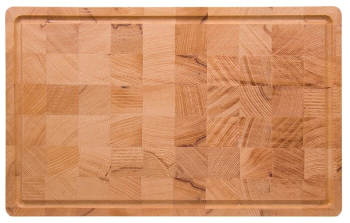 Разделочная доска Bent Wood торцевая 40х25х2 см из бука коричневый