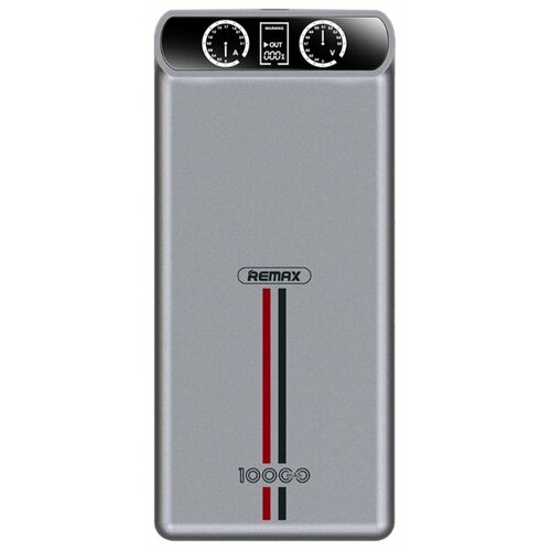 Аккумулятор Remax Kingree 10000 mAh RPP-18 серый