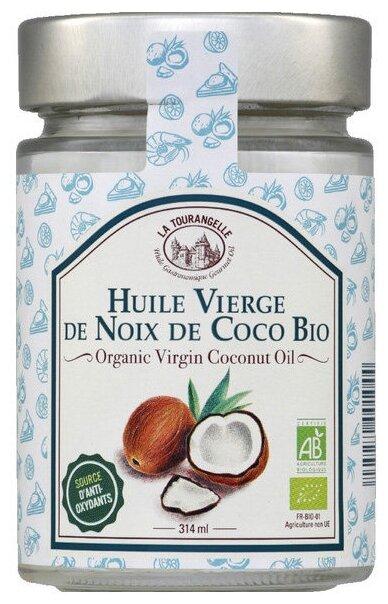 La Tourangelle Масло кокосовое нерафинированное 0.314 л