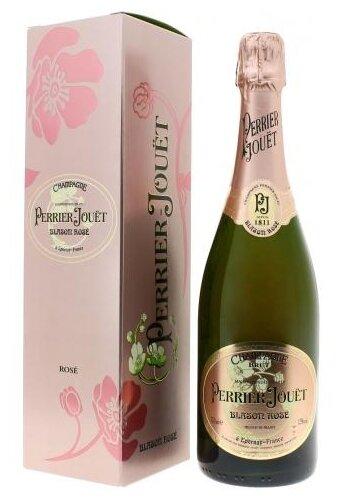 Шампанское Perrier-Jouet Blason Rose 6 лет, 0.75 л, подарочная упаковка