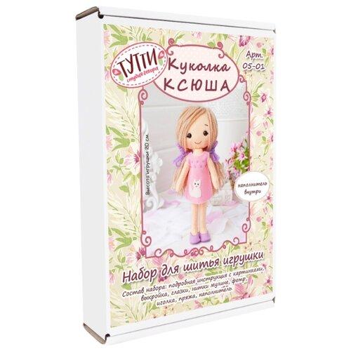 Купить Тутти Набор для творчества шьем из фетра Куколка Ксюша (05-01), Изготовление кукол и игрушек