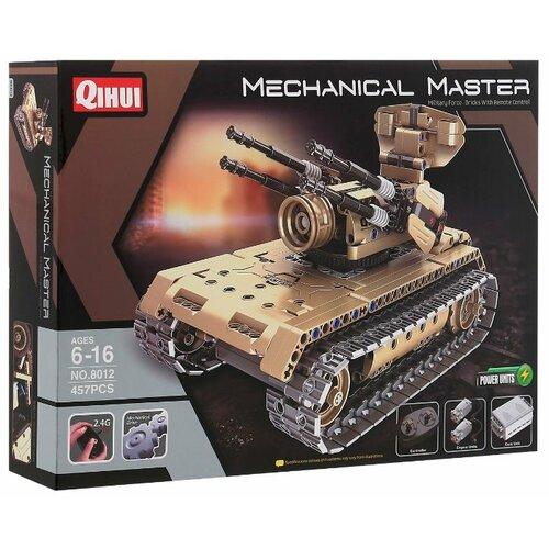 Купить Электромеханический конструктор QiHui Mechanical Master 8012 Зенитный танк, Конструкторы