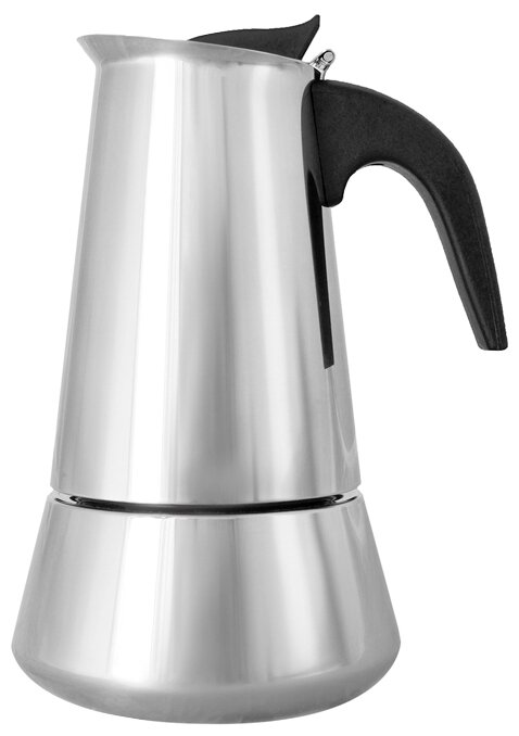 Кофеварка гейзерная Italco Induction, 227600, серый, серебристый, на 6 чашек