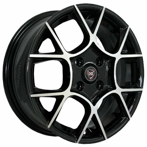Фото - Колесный диск NZ Wheels F-26 6x15/4x100 D60.1 ET40 BKF колесный диск nz wheels f 42 6x15 4x100 d60 1 et40 bkbsi