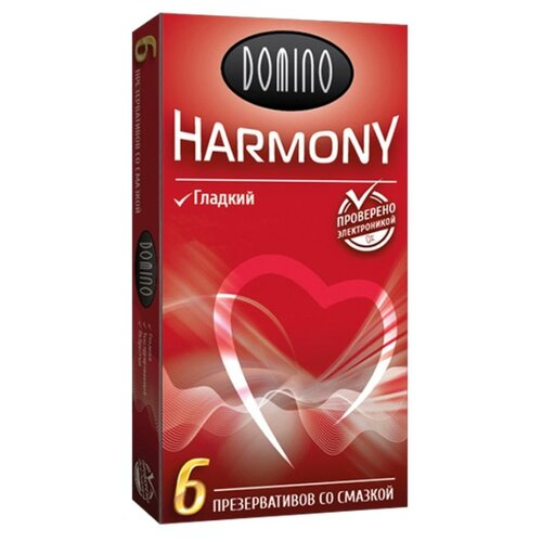 Презервативы DOMINO Harmony Гладкие (6 шт.) презервативы my size 49 160 36 шт