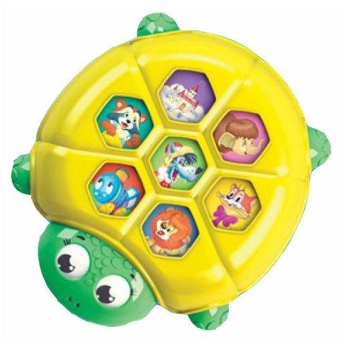 Интерактивная развивающая игрушка Азбукварик Плеер Кроха. Черепашка желтый/зеленый