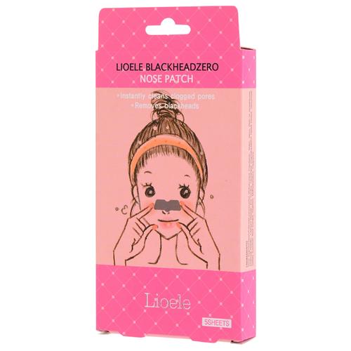 Lioele BlackheadZero Nose Patch Патчи для очищения пор на носу, 5 шт. сухая кожа на носу