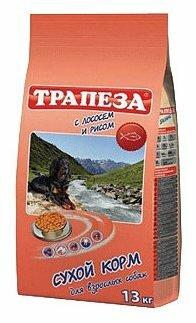 Корм для собак Трапеза (13 кг) Для собак с чувствительным пищеварением Лосось с рисом