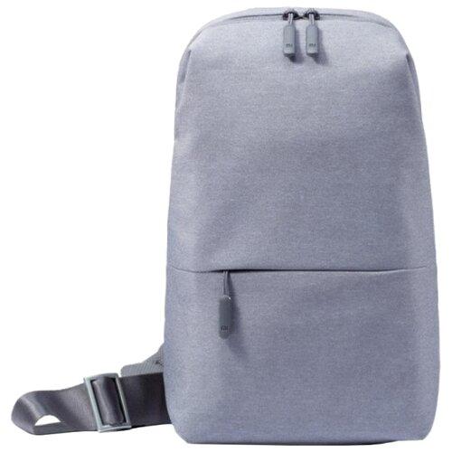 Рюкзак Xiaomi City Sling Bag 10.1-10.5 light grey рюкзак xiaomi mi chest bag light grey