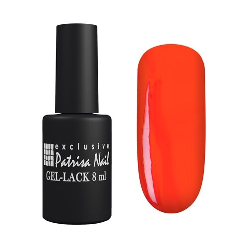 Гель-лак Patrisa Nail Авангард, 8 мл, оттенок 311 темно-красный patrisa nail масло для кутикулы амаретто 78 мл