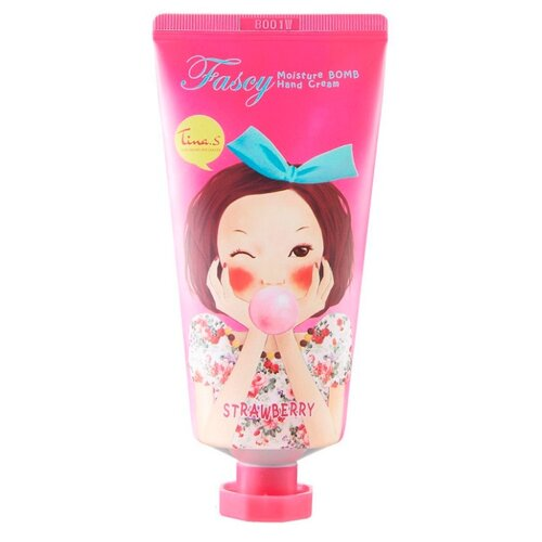 Крем для рук Fascy Moisture bomb Strawberry 80 млУход за руками<br>