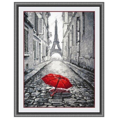 Купить Овен Цветной Вышивка крестом В Париже дождь 20 х 29 см (868), Наборы для вышивания
