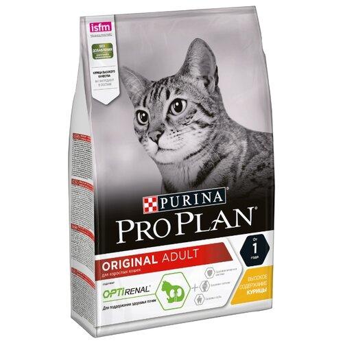 Корм для кошек Purina Pro Plan Adult feline rich in Chicken dry (3 кг)Корма для кошек<br>