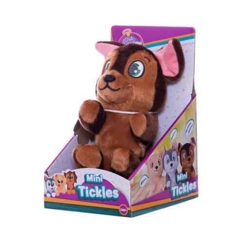 Купить Интерактивная мягкая игрушка Club Petz Mini Tickles Щенок коричневый, Роботы и трансформеры
