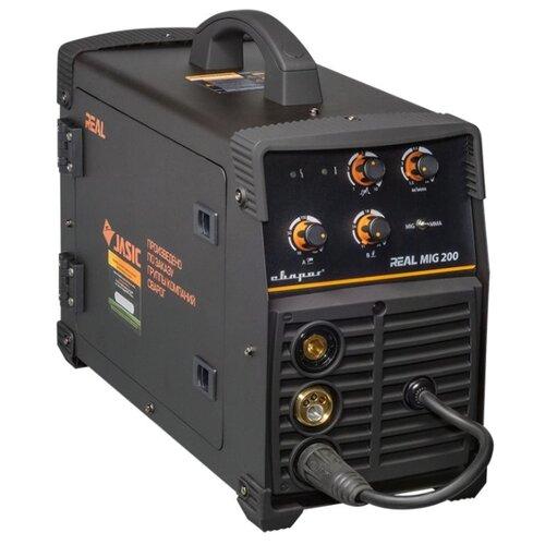 цена на Сварочный аппарат Сварог REAL MIG 200 (N24002N) BLACK (MIG/MAG, MMA)