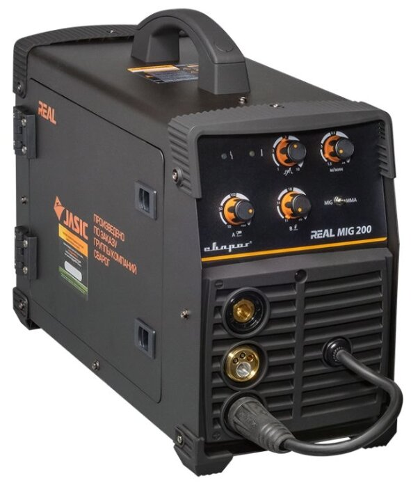 Сварочный аппарат Сварог REAL MIG 200 (N24002N) BLACK (MIG/MAG, MMA)